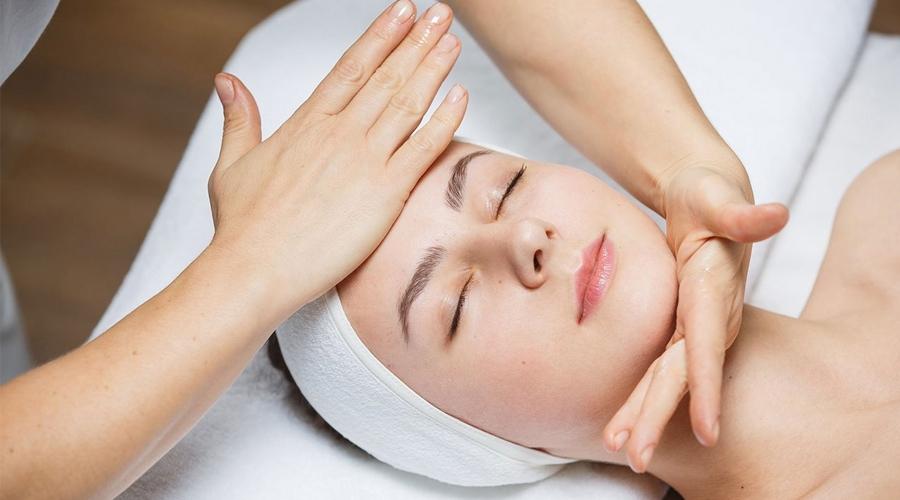 Классический массаж лица фото